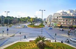 Photo of Athens taken from the bridge of Katehaki Greece Royalty Free Stock Photography