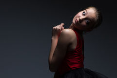 Photo of attractive young girl Royalty Free Stock Images