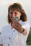 Photo au sujet de vous Photos stock