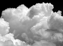 Photo background bright white big clouds Royalty Free Stock Photo