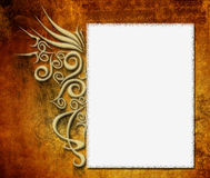 Photo Background Layout Design Stock Image