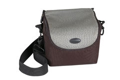 Photo backpack on a white background Stock Photography
