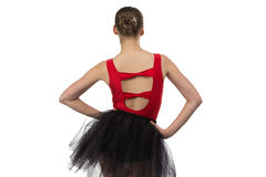 Photo of ballerina from the back Stock Photo