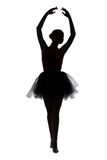Photo of ballerina with hands up Stock Photography