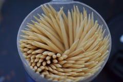 Photo Of Bamboo Toothpicks Royalty Free Stock Photography