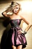 Photo of beautiful blond lady Royalty Free Stock Photography