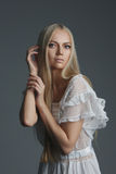 Photo of beautiful blonde girl Royalty Free Stock Image