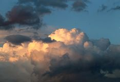 Photo of beautiful clouds Royalty Free Stock Photo