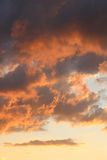 Photo of beautiful clouds Royalty Free Stock Photos