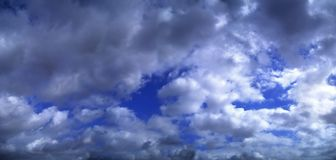 Beautiful clouds on the sky. Photo Of the beautiful clouds on the sky stock photography