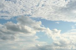 Beautiful clouds on the sky. Photo Of the beautiful clouds on the sky stock image