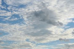 Beautiful clouds on the sky. Photo Of the beautiful clouds on the sky stock photo