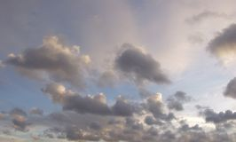 Photo of the beautiful clouds on the sky stock photo
