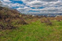 Photo beautiful Crimean landscape. Royalty Free Stock Image