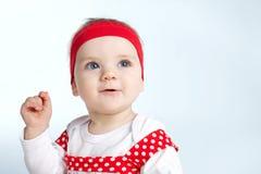 Photo of beautiful happy baby Royalty Free Stock Photography