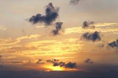 Photo beautiful sunset Royalty Free Stock Photo