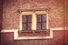 photo of beautiful vintage old window in Wroclaw Royalty Free Stock Photos