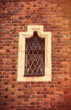 photo of beautiful vintage old window in Wroclaw Stock Image