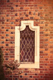 Photo of beautiful vintage old window in Wroclaw Royalty Free Stock Photography