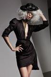 Photo of a beautiful woman royalty free stock image