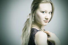 Photo of beautiful woman Royalty Free Stock Image
