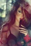 Photo of beautiful woman Royalty Free Stock Photos