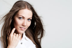 Photo of beautiful woman Stock Photo