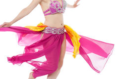Photo of a belly dancer in traditional costume Royalty Free Stock Photography
