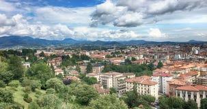 Photo of Bergamo, Italy. stock images