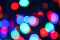 Abstract big light bokeh background Royalty Free Stock Image