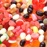 Photo of big collection colored candies Stock Images