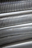 Flexible Steel Tubes Stock Photography