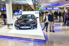 Photo of black BMW series i8 Stock Photo