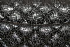 Photo of black handbag on the table.  royalty free stock image