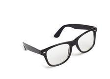 Photo of black nerd glasses Royalty Free Stock Photo