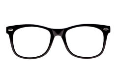 Photo Black nerd spectacle frames Stock Images