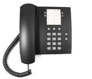 Photo of black phone Royalty Free Stock Photography