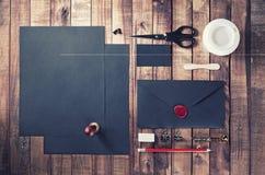 Photo of black stationery Stock Photography
