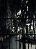 Photo of Black Steel House Gate Stock Photos