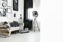 Photo of white living room Stock Images