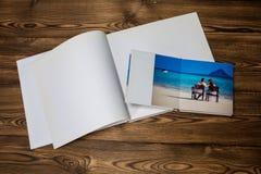 Photo blank brochure cover Stock Photo