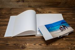 Photo blank brochure cover Royalty Free Stock Photos