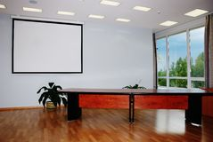 Photo of blank conference room stock images
