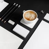 Blank corporate stationery Stock Photo