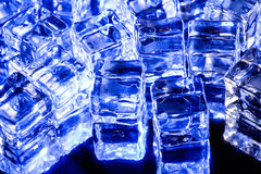 Photo of blue fake ice Royalty Free Stock Images