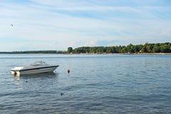 Photo of boat in Porec Royalty Free Stock Photos