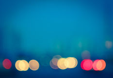 Photo of bokeh lights Royalty Free Stock Images