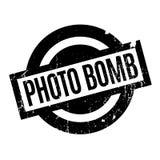 Photo Bomb rubber stamp Stock Photos