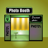 Photo booth Royalty Free Stock Images