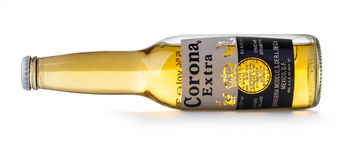 Photo of a bottle of Corona Extra Beer Royalty Free Stock Photo